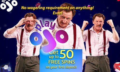 playojo no wagering requirements