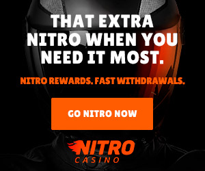That extra Nitro when you need it most!